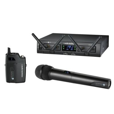 Audio Technica ATW-1312 System 10 Pro Dual Channel System With Beltpack & Handheld