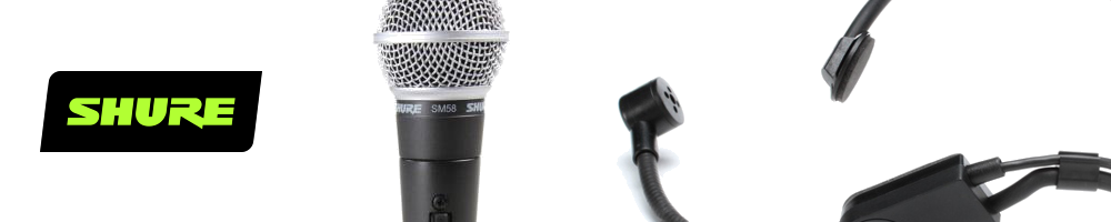 Legendary Microphones from Shure
