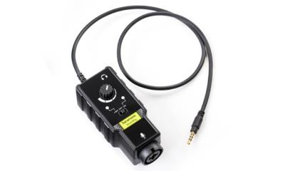 "Saramonic Smart Rig II Audio Interface with XLR & 1/4"" Inputs for iOS and Android Devices"