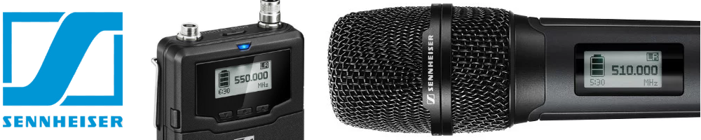Sennheiser Wireless and Wired Microphones