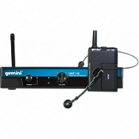 Gemini UHF-116HL UHF Single Channel Wireless System Headset & Lapel