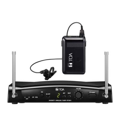TOA WS-5325M UHF Beltpack Wireless System with YP-M5310 Omni Lapel Microphone
