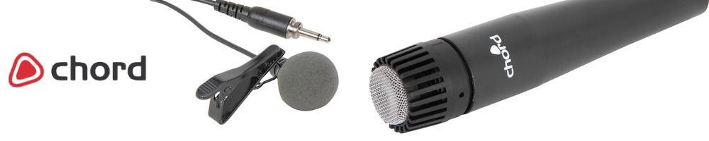 Chord MIcrophones and Accessories for every budget