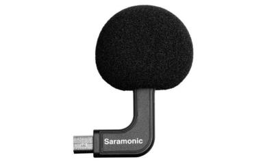 Saramonic G-Mic Mini Stereo Ball Microphone for GoPro Hero4, Hero3 & Hero3+ Action Cameras