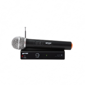 Gemini VHF-01M Wireless System with Hand-held Microphone