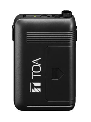 TOA WM-5325 UHF Belt-pack Transmitter without Microphone, Rechargeable