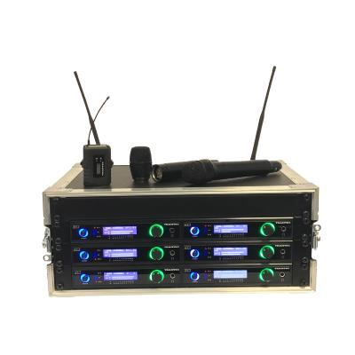 Trantec S5.5 Racked 'n' Ready 10 Channel UHF Wireless Microphone System (Channel 38)