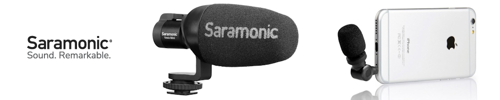 DSLR and Mobile Microphones from Saramonic