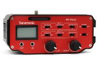"Saramonic SR-PAX2 2-Channel On-Camera XLR & 1/8"" (3.5mm) Audio Mixer"