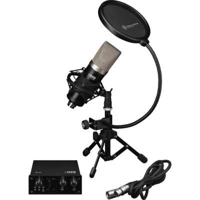 IMG Stageline Podcaster 1 Home Recording Kit