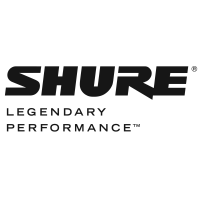 Shure wired and wireless microphones
