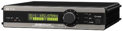 TOA WT-5800 UHF Wireless Tuner, 64-ch, True Diversity, Rack Mountable