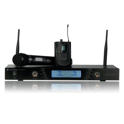 Trantec S2.4 HDBX Dual Receiver System with 2 Handheld Transmitters
