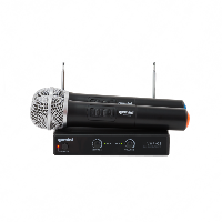 Gemini VHF-02M Dual Wireless System with Hand-held Microphones