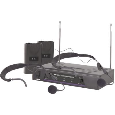 QTX VN2 Dual Neckband VHF Wireless Microphone System