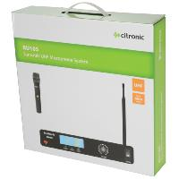 Citronic RU105-H UHF Handheld Single Microphone System