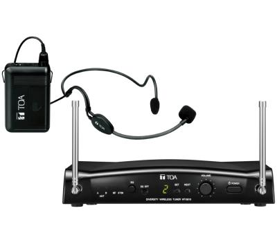 TOA WS-5325HUHF Headset Wireless System