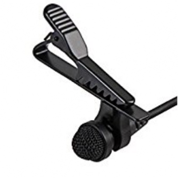 Trantec LP2 (MIC-X2) Lapel microphone (4 pin mini XLR)