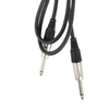 "Audio Lead - 6.3mm (1/4"") Jack to Jack - 1.5m"