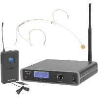 Citronic RU105-N Wireless UHF Beltpack Single Microphone System